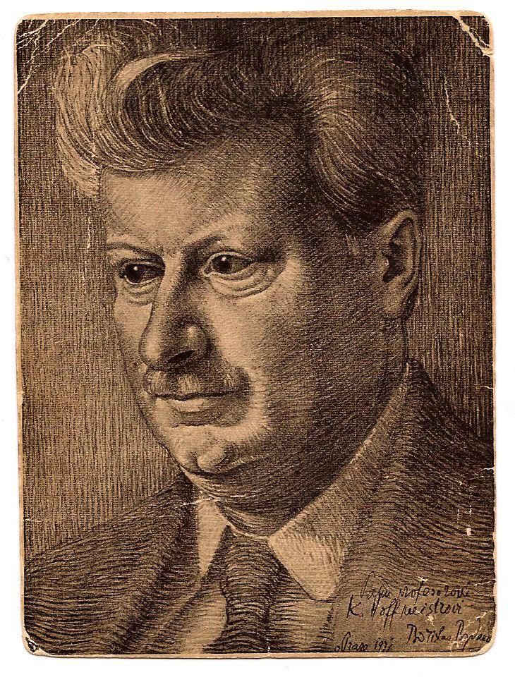 Portrait of Karel Hoffmeister