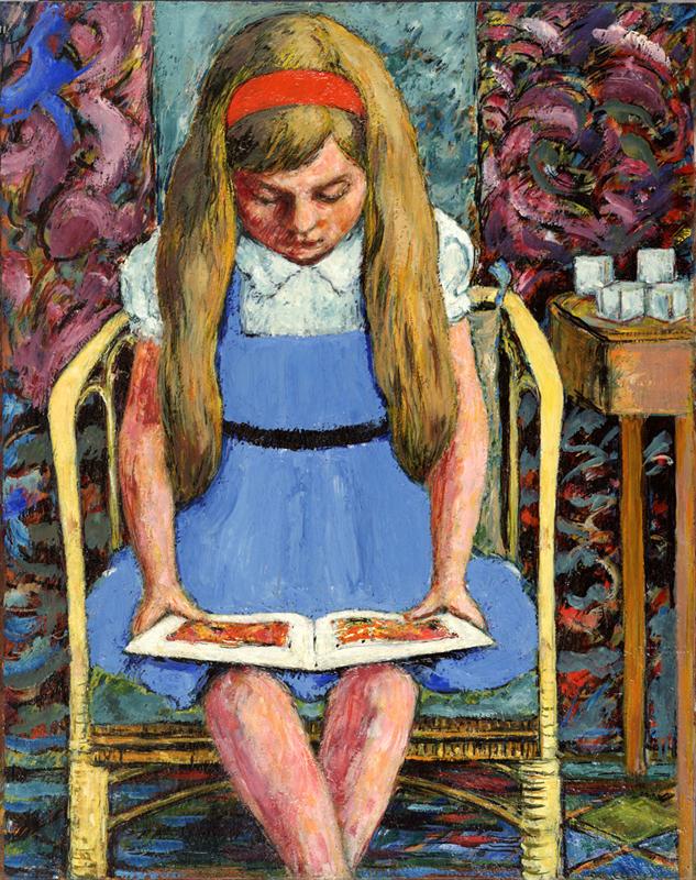 Anna Reading Babar