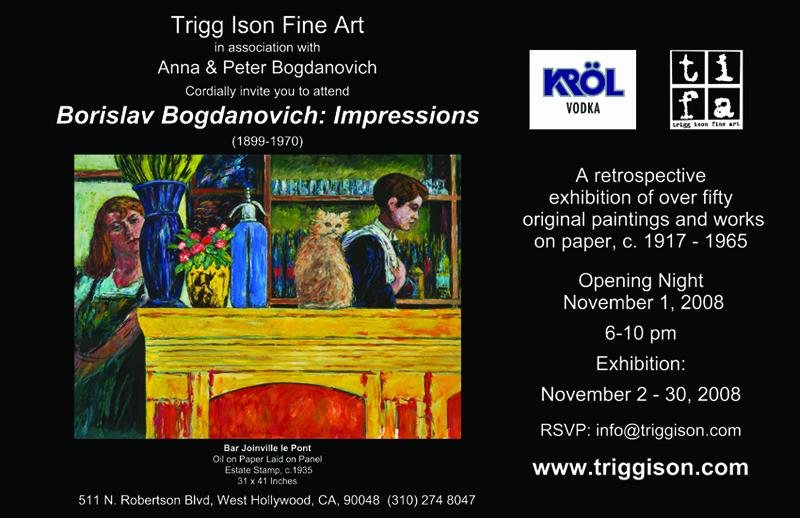 TRIGG ISON FINE ART  IMPRESSIONS
