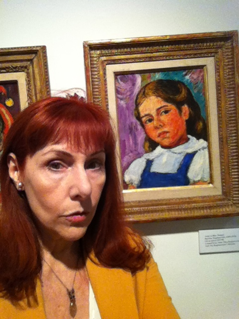 "Anna Bogdanovich by ""Anna in Blue Jumper"""