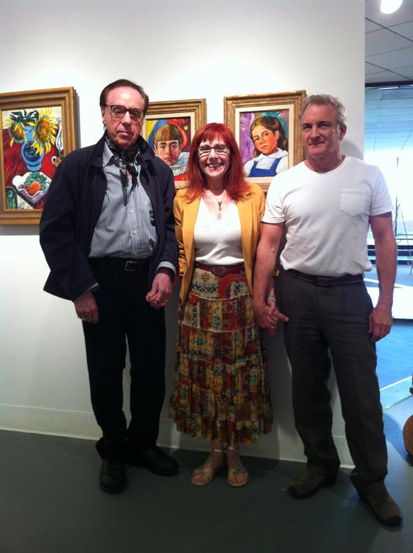 Peter and Anna Bogdanovich with Jason Klassi