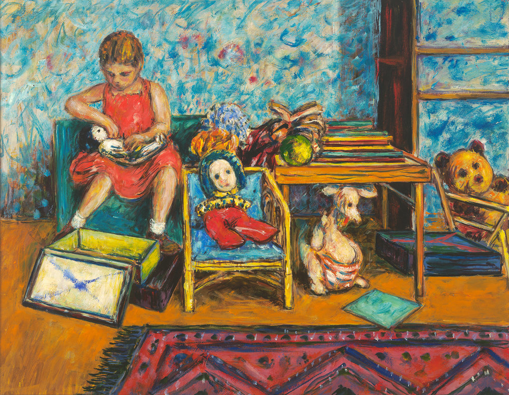 Anna and Sophie the Kangaroo