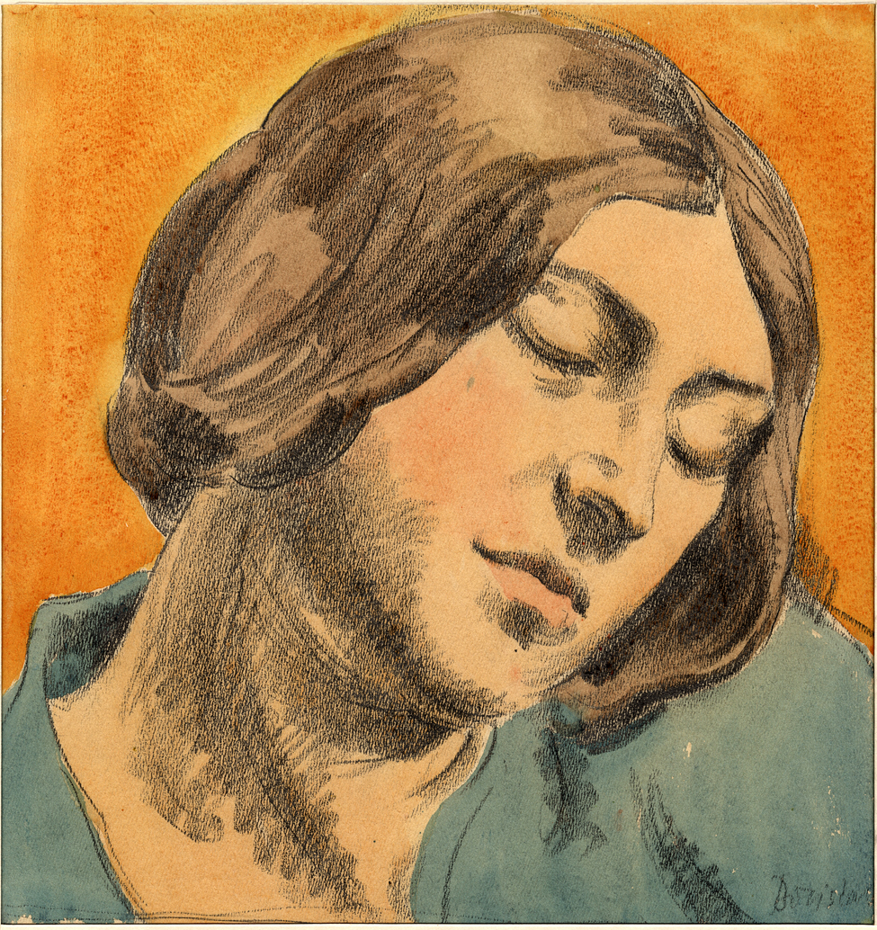 Daydream In Orange, 1920