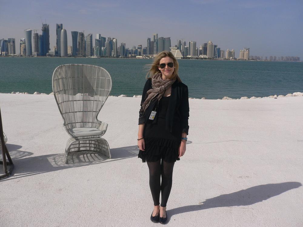 Lucy Rees, Qatar, Doha.