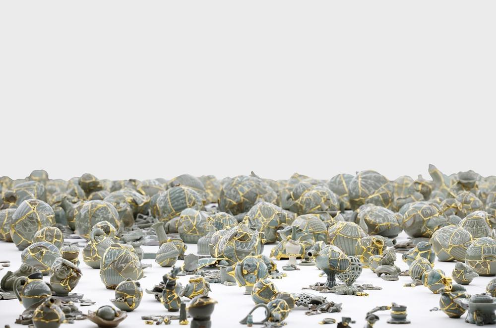 Encounters: Kukje Gallery / Tina Kim Gallery, Yeesookyung Thousand, 2014
