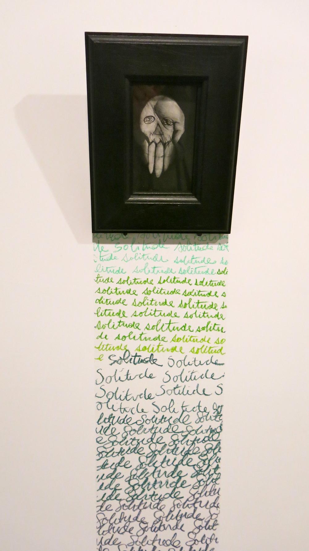 Lignes de la main,   1988 (detail).