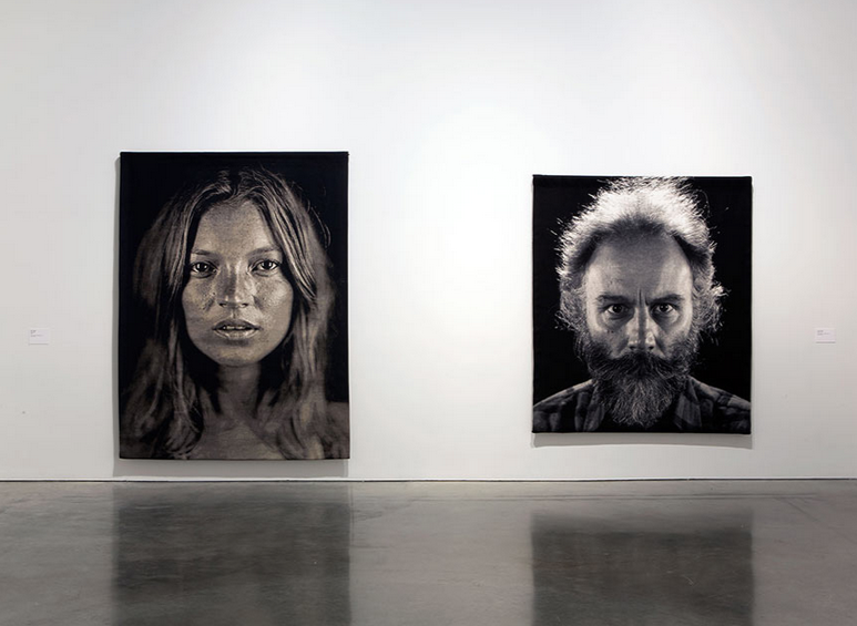 Chuck Close Lucy Rees Art