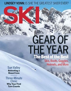 """The Freshy Factor"" — Two software engineers—and self-proclaimed weather geeks—go live to reboot the way you plan your powder days.  Ski Magazine, December 2016"