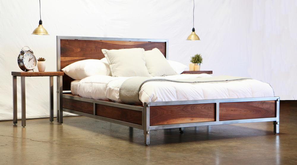 Wonderful Walnut Industrial Furniture. By Finding The Perfect Balance .