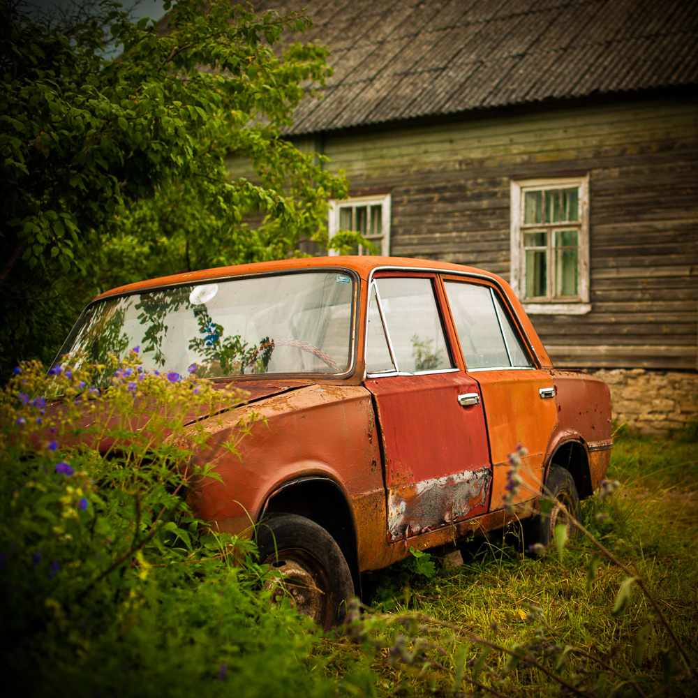 Resting Russia - Parked