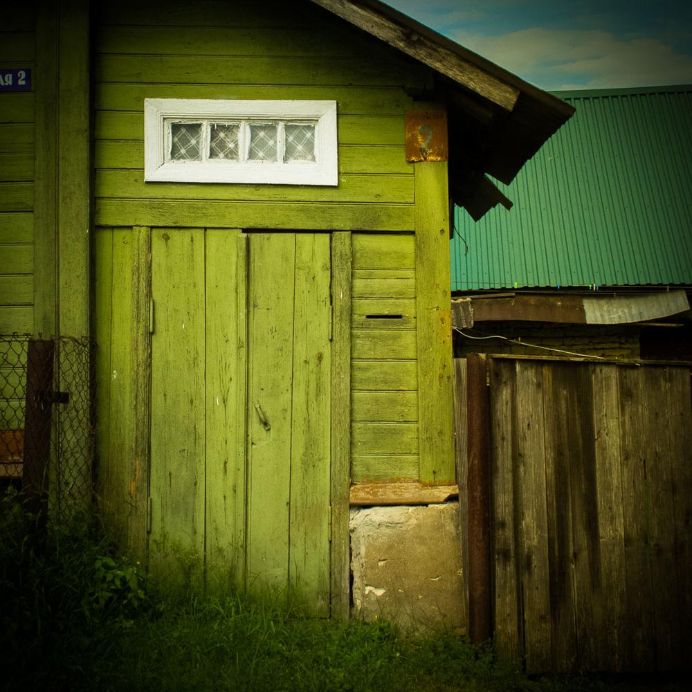 Resting Russia - Green Door