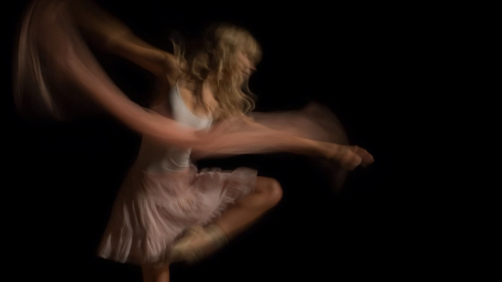 Dancers in the Dark A photographic study of movement and light