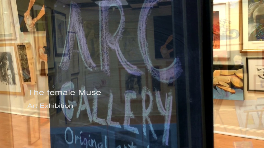 The female Muse Art Exhibition in Stirling Arcade