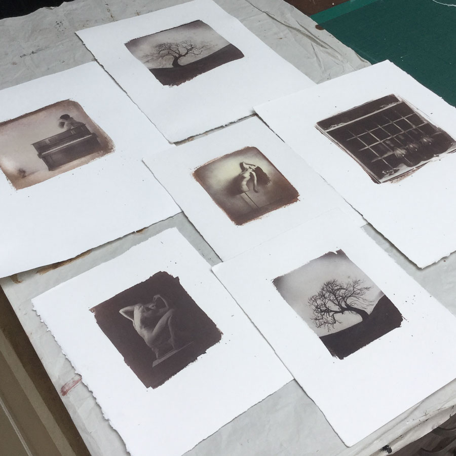 Alternative Process Printing. Salt, Albumen, Cyanotype ... its a different world. more..