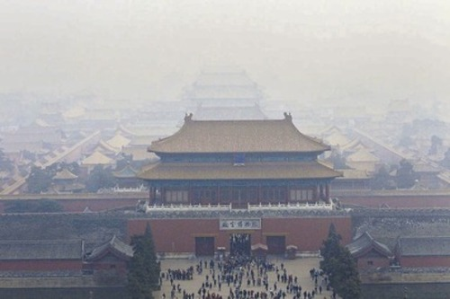 Forbidden City in China