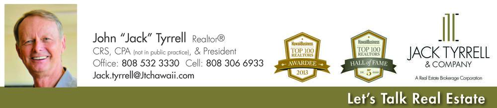 Listing Agent: Jack Tyrrell, Realtor, CRS, CPA & President