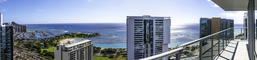 Waihonua Penthouse 4201 - Panoramic View