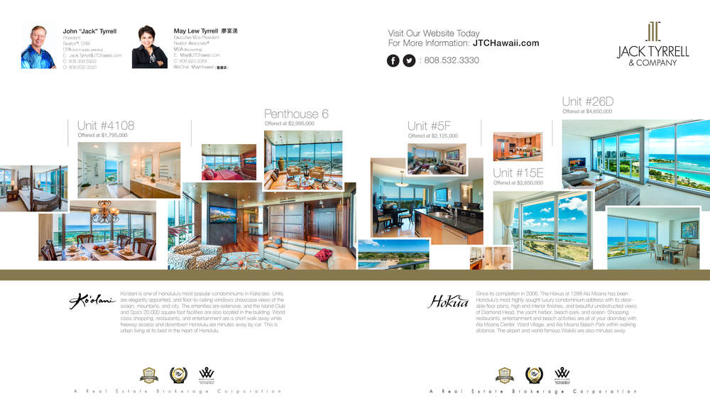 Luxury Home Magazine, Aug & Sep