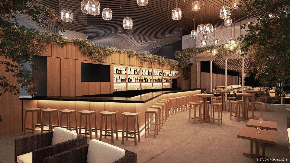 Nobu Honolulu Open-Air Bar & Lounge. Photo credit: Nobu Honolulu