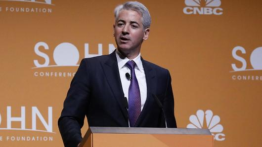 Bill Ackman speaking at the 22nd Annual Sohn Investment Conference on May 8, 2017. Photo: Heidi Gutman | CNBC