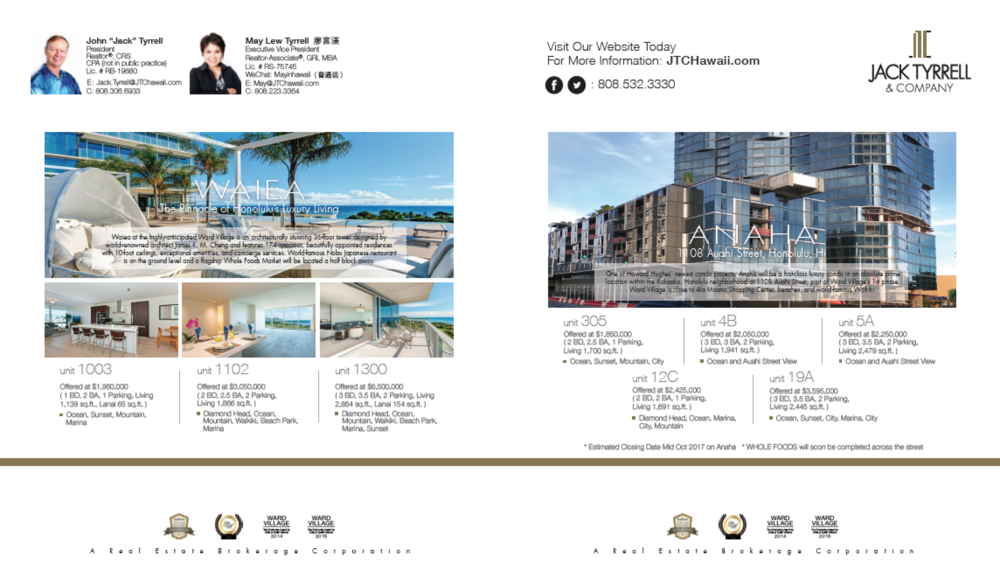Luxury Home Magazine, Aug and Sep 2017