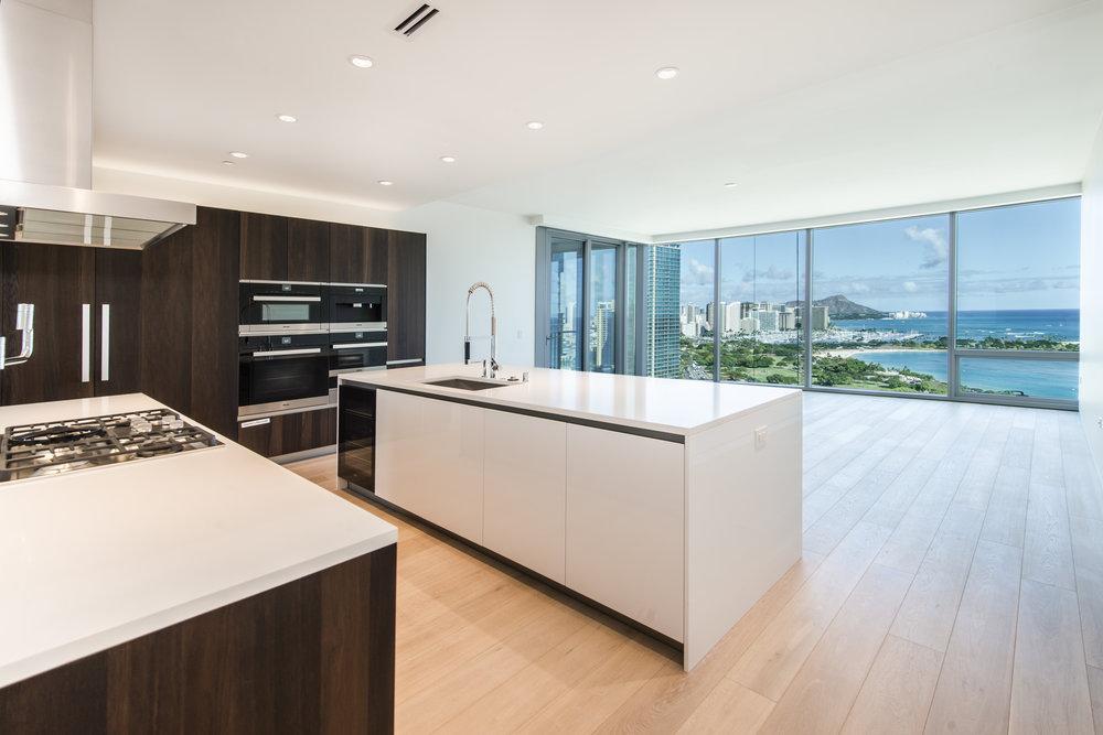 UNIT 2306 / $3,800,000 FS   3 BEDROOMS / 2.5 FULL BATH / 2,023 sq. ft. / VIEW - DIAMOND HEAD, WAIKIKI, OCEAN, MOUNTAIN, BEACH PARK, MARINA