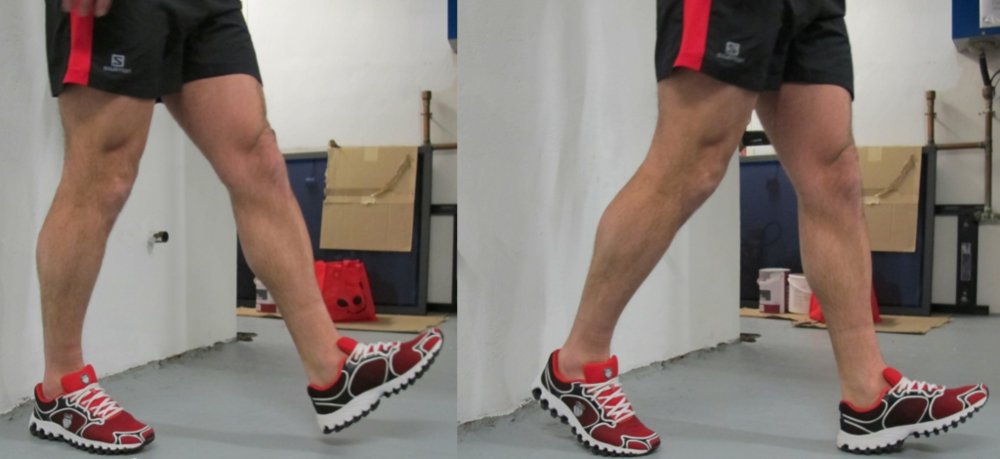 Fig 5: Heel step downs