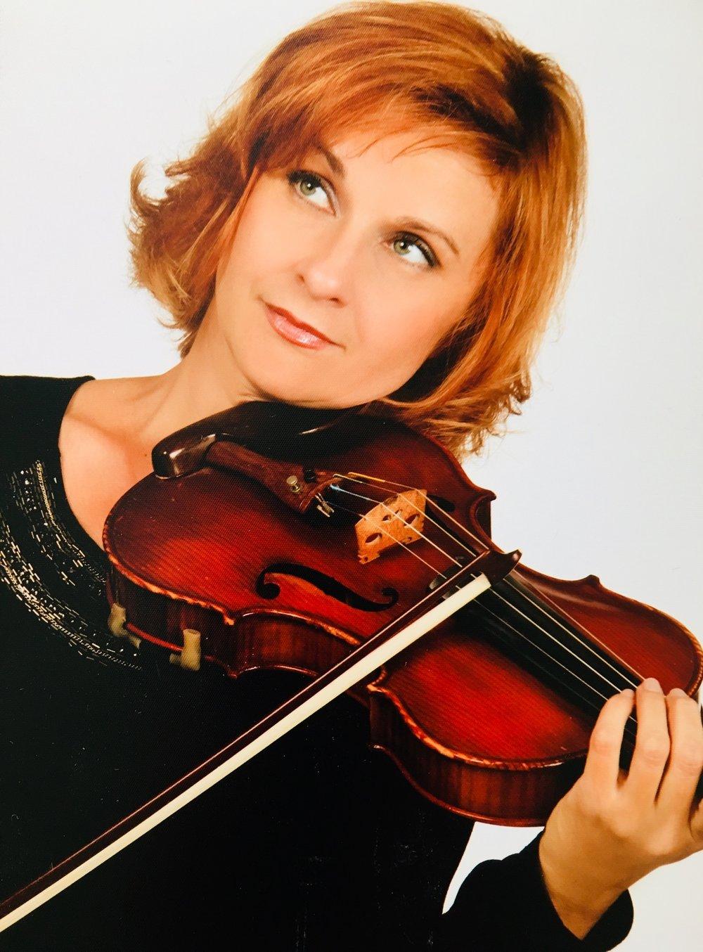 Irene Fabian,  Geige, Klavier