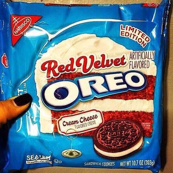 Red Velvet Oreos