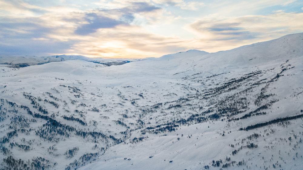 Ein fjelltur mot Høgehaug er aldri feil. Per Odd´s turtips nummer ein: Ta alltid med nok sjokolade (Foto: Håvard Nesbø)