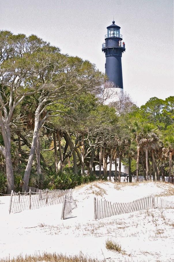 Hunting Island State Park, SC. This is the beach where my mother and her classmates would have gone to celebrate Easter Monday.