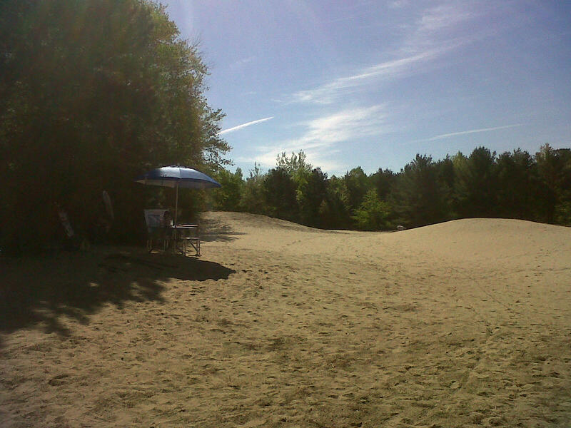 Eastern section of the dunes  Photo by B.McLartyHalfkenny