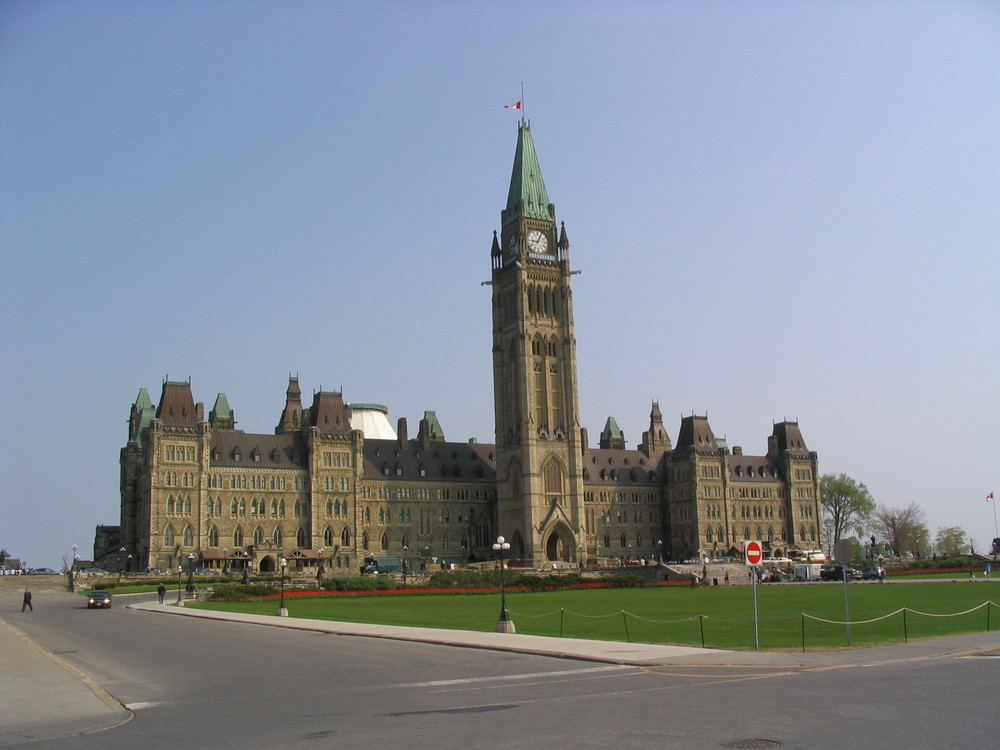 Parliament building  Photo by Q. Gall.