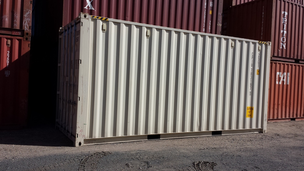 One-trip 20' high cube container