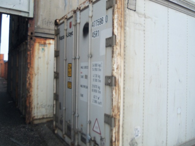 40' HC refrigerated container doors