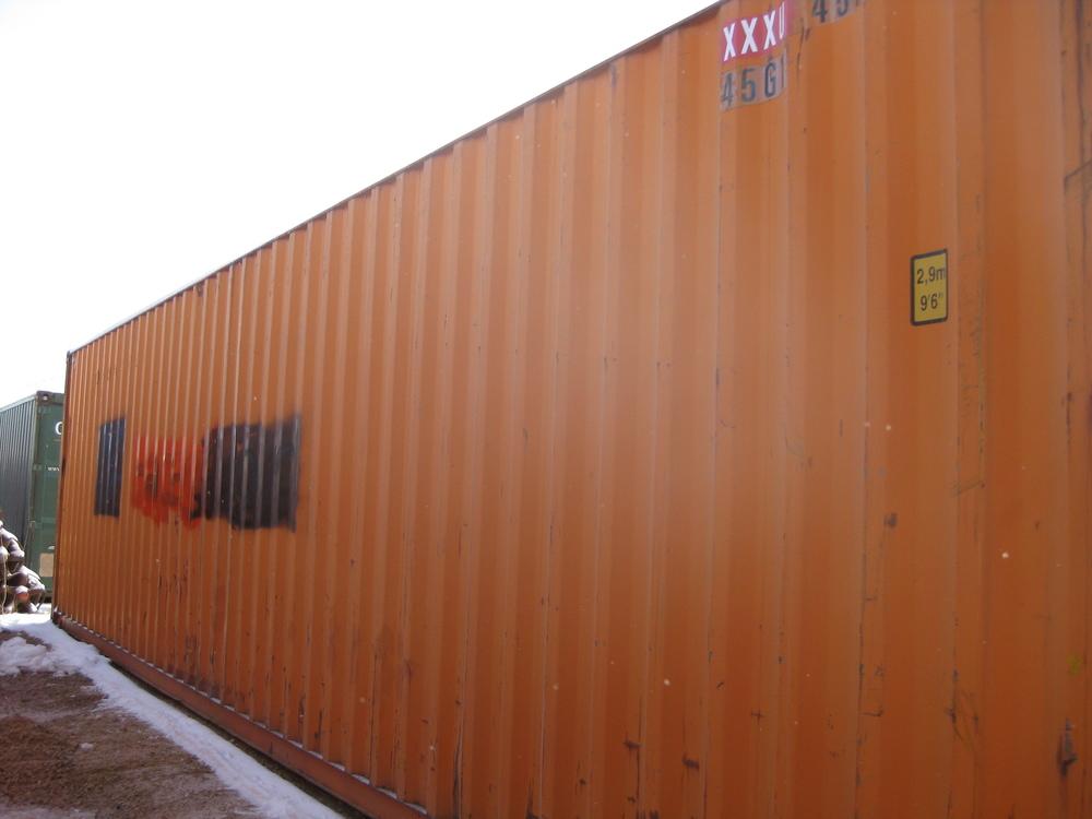 Cargo-worthy 40'