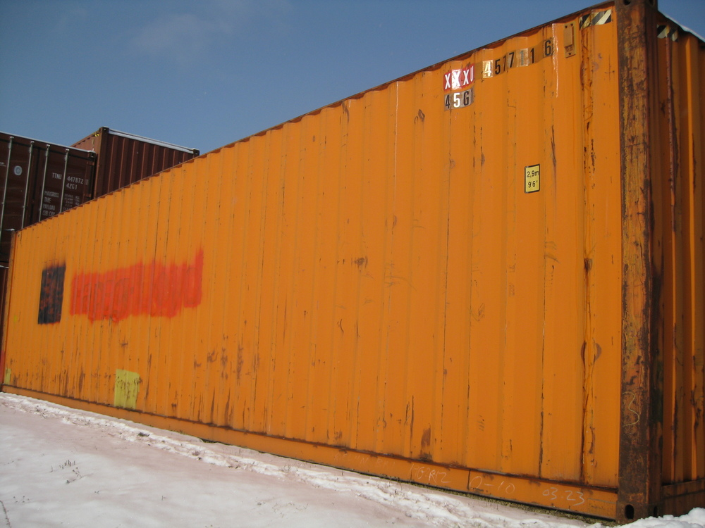 Orange Cargo-worthy 40'