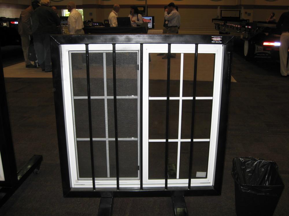 Window with bars