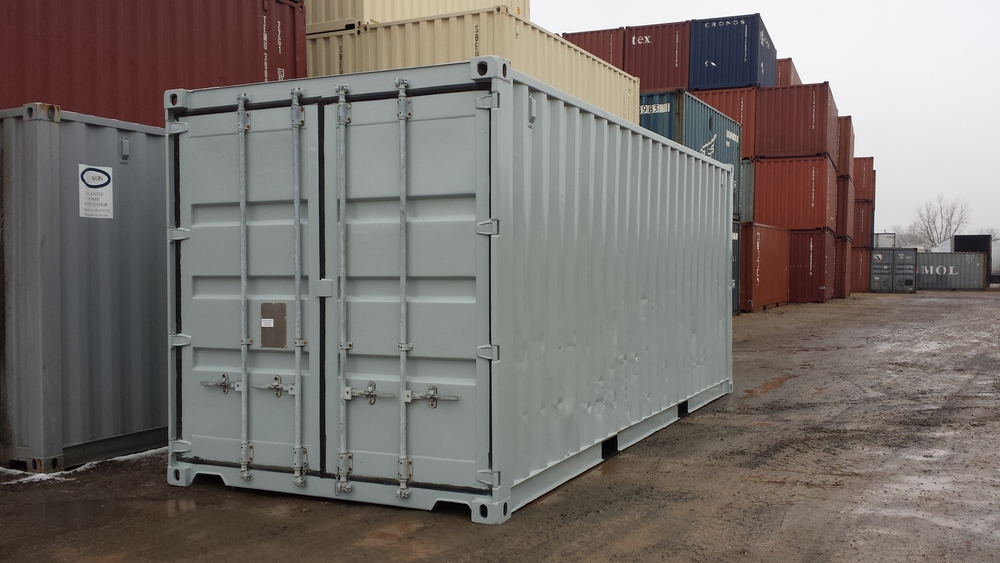 Painting a used container