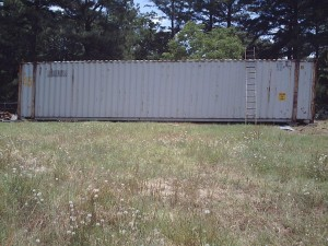 Used 45' container