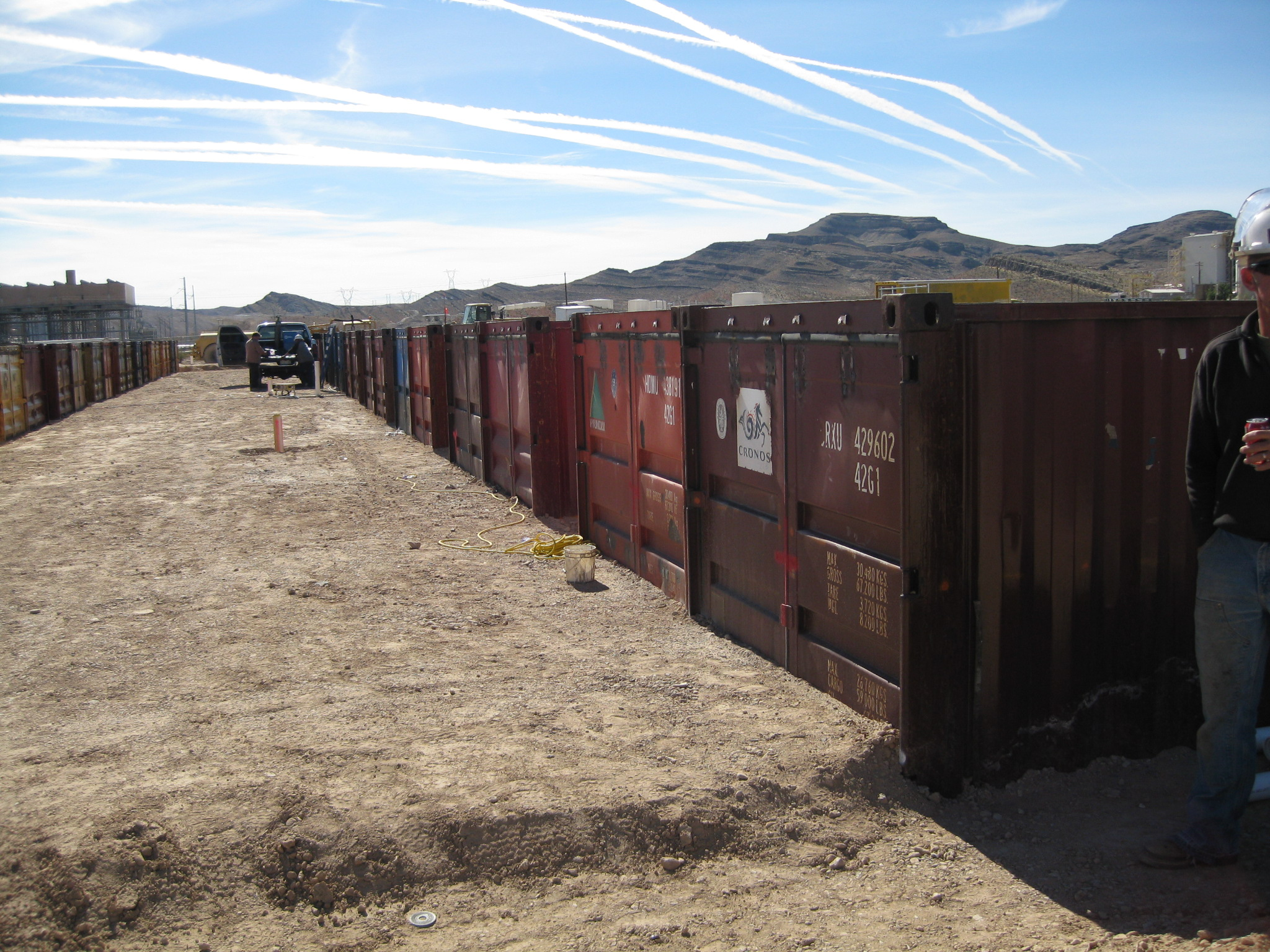 Shrimp Farm In The Desert Shipping Containers At A Fair