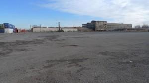 Same yard empty in December 2010