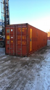 Used 40' high cube container