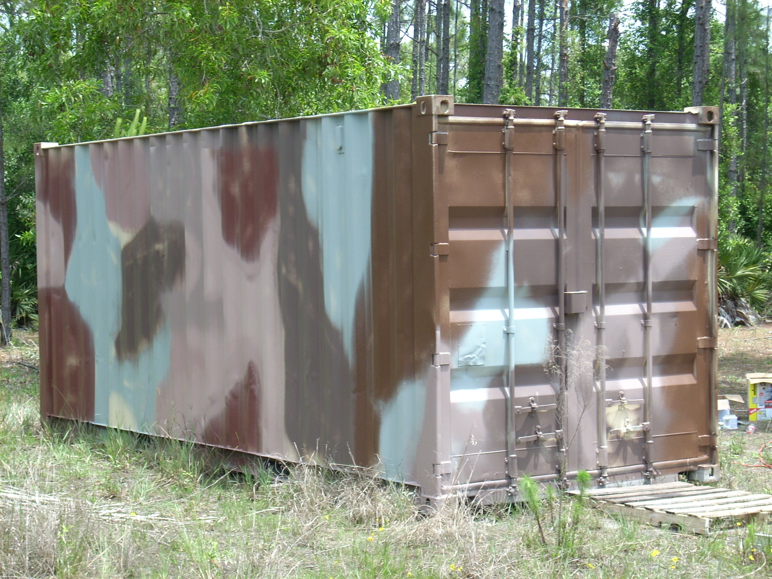 Connex Or Conex Boxes Make Great Hunting Cabins