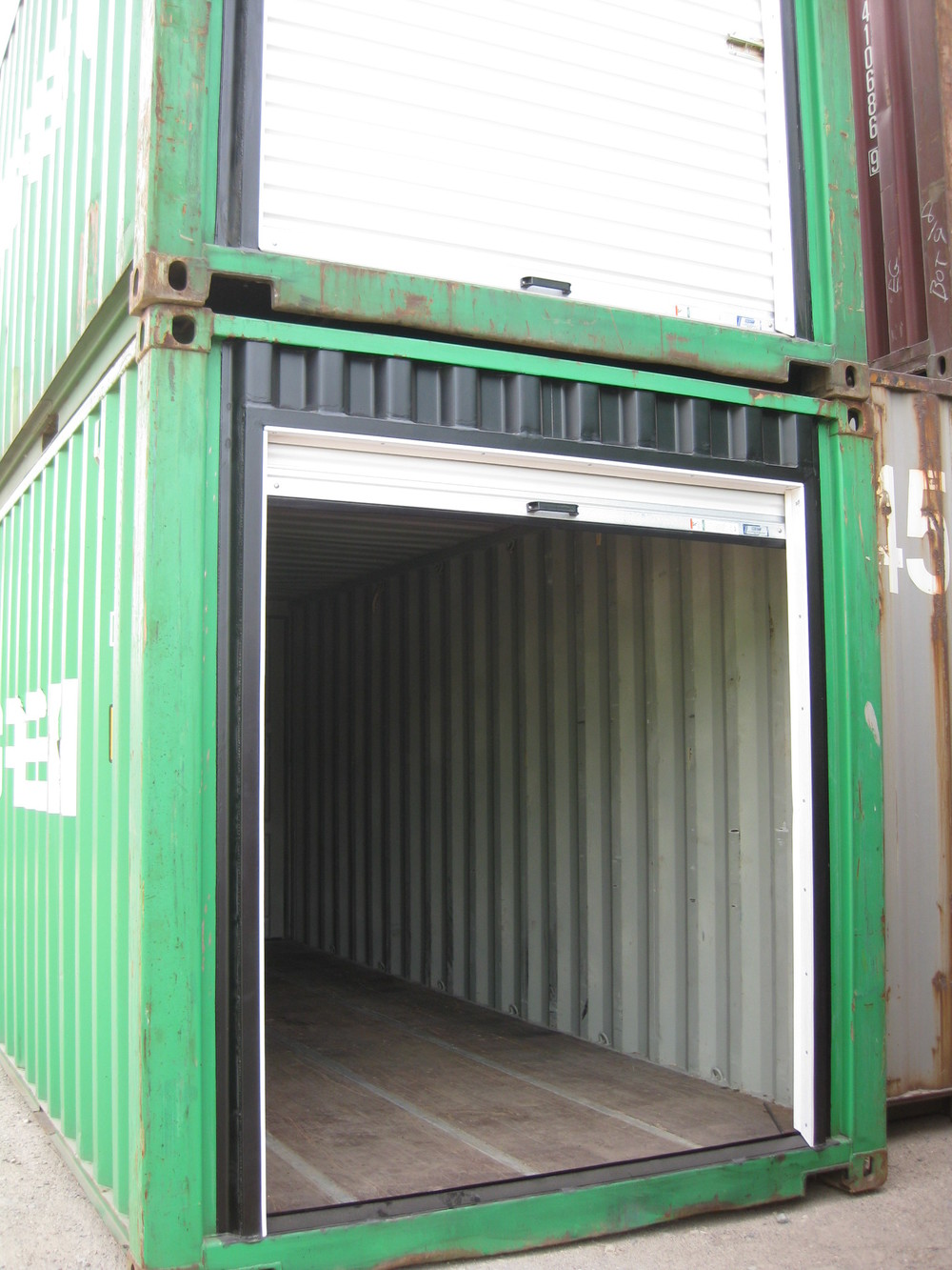 Easy Access - 4 variations on container doors & Easy Access - 4 variations on container doors u2014 Shipping Containers ...