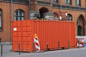 Jobsite cargo container