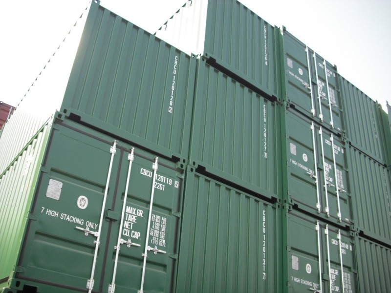 How To Stack Containers Shipping Containers At A Fair
