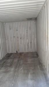Inside used 20'