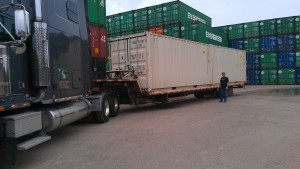 Super Cubes ground-level delivery of 2 - 20' containers (empty)