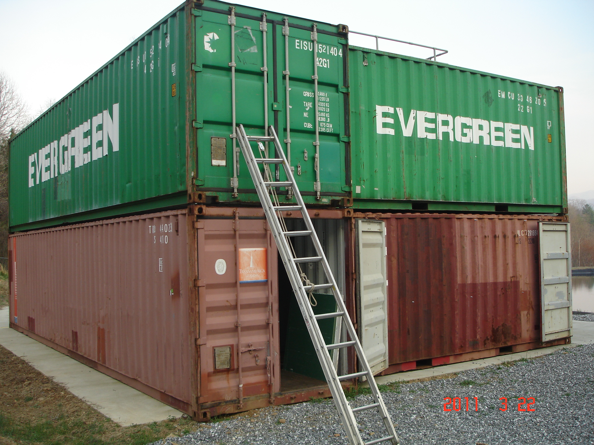 To block or not to block container blocking in detail for Structure container maritime